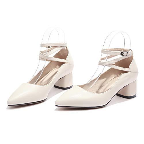 An Con 35 white Eu Sandali Zeppa Donna Bianco Dgu00826 axrE1a
