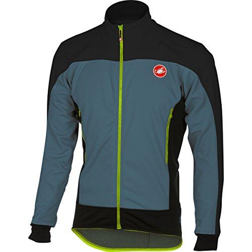 Castelli Mortirolo 4 Jacket - Men's Mirage/Black, (Castelli Cycling Jacket)