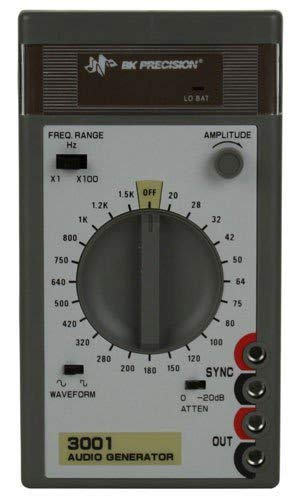 B&K Precision 3001 Sine/Square Wave Audio Generator, 20 Hz-150 kHz