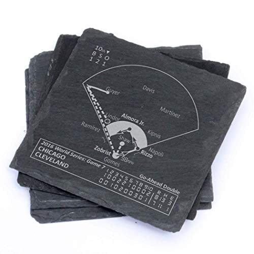Greatest Cubs 2016 World Series - Slate Coasters (Set of -