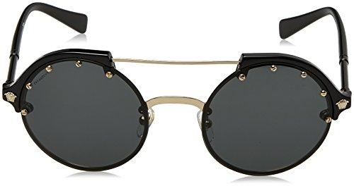 de 0Ve4337 Gafas Gold Black Multicolor para Sol Pale Mujer Versace pw1qE4q