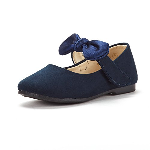 - DREAM PAIRS Toddler Belle_02 Navy Girl's Mary Jane Ballerina Flat Shoes Size 9 M US Toddler