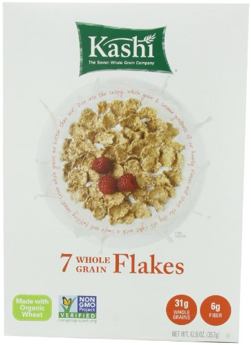 (Kashi 7 Whole Grain Flakes, 12.6-Ounce Boxes (Pack of)