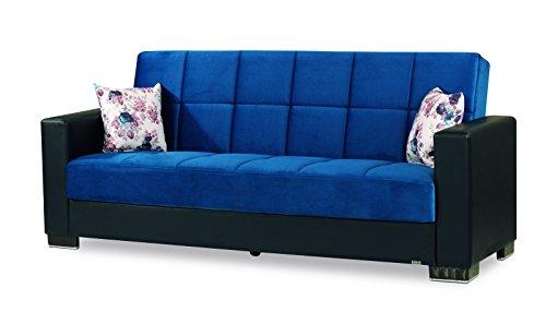 Miraculous Amazon Com Casamode Armada Sofa Emerald Blue Microfiber Inzonedesignstudio Interior Chair Design Inzonedesignstudiocom