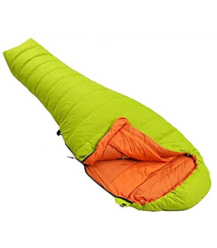 Force Ten Catalyst - Saco de Dormir para bebé (250 Plumas), Color citronela