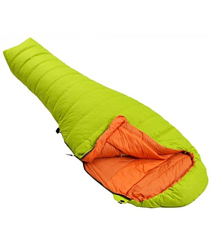 Force Ten Catalyst - Saco de Dormir para bebé (250 Plumas), Color citronela: Amazon.es: Deportes y aire libre