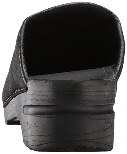 karl Original black Sanita Bent 2 Para Negro Open Hombre Zuecos H5qvqwP