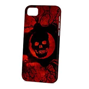 Case Fun For SamSung Galaxy S6 Case CoverVogue Version - 3D Full Wrap - Red Skull