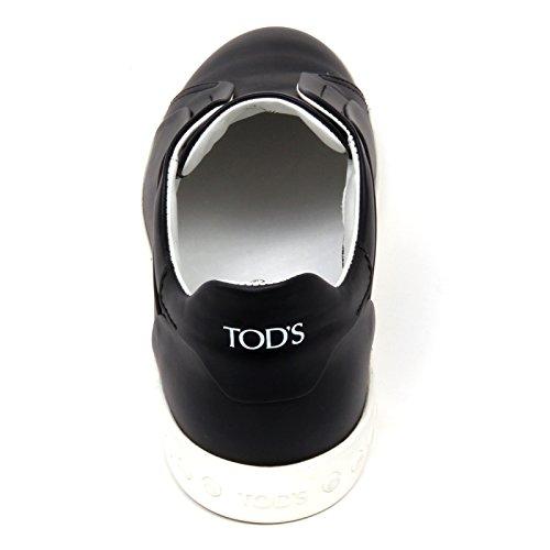 Donna Sneaker Nero Shoe Cassetta Tod's D0480 Woman Elastico Derby Scarpa Zvq1xa