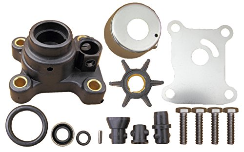 Evinrude Johnson 2 & 4 Stroke 9.9 15 HP 1974 Through 2005 Water Pump Impeller Kit Replaces 394711 - Stroke Water Pump Kit