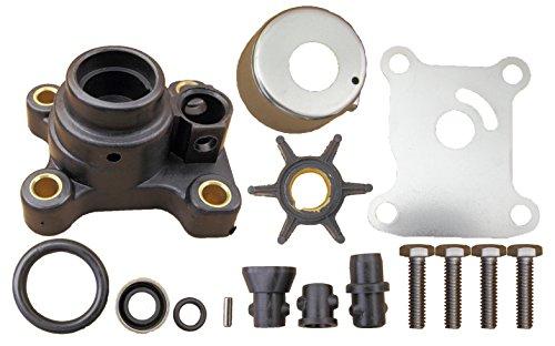 Evinrude Johnson 2 & 4 Stroke 9.9 15 HP 1974 Through 2005 Water Pump Impeller Kit Replaces 394711 (Evinrude Johnson Parts)