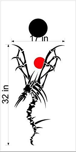 Dragon Mythical Creature GOT コーンホールボードデカールステッカー グラフィック 14 B07HRS8LPD