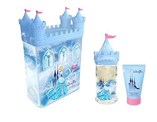 Disney 2 Piece Set Tin, Cinderella Castle (Piece 2 Perfume)