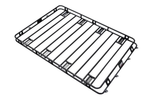 Smittybilt 50125AM Defender Roof Rack 5 ft. x 12 ft. x 4 in. Bolt Together Incl. AM Clamps/Brackets Defender Roof Rack by Smittybilt