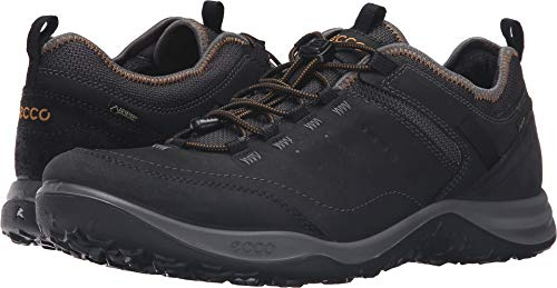 (ECCO Men's Esphino GORE-TEX waterproof Hiking shoe, Black, 47 EU/13-13.5 M US)