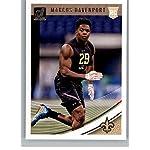 2018 Donruss Football  356 Marcus Davenport RC Rookie Card New Orleans  Saints. f6dfebf49