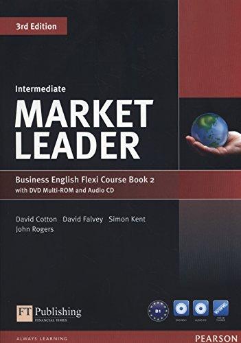 Market leader. Intermediate. Coursebook. Ediz. flexi. Per le Scuole superiori. Con espansione online. Con CD-Audio. Con DVD-ROM: Market Leader Intermediate Flexi Course Book 2 Pack