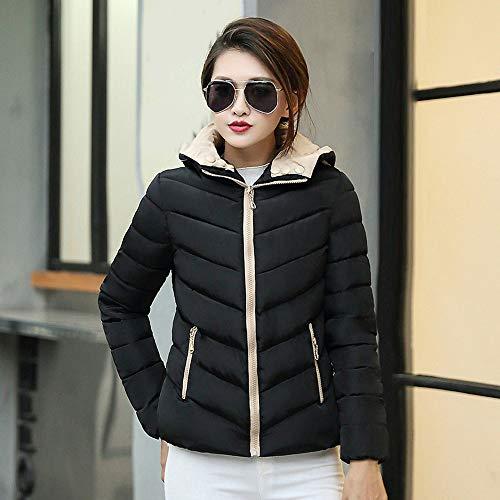 Womens Coats Winter Clearance Liraly Fashion Winter Warm Coat Thick Warm Slim Jacket Overcoat(Black,US-10 /CN-XL) by Liraly (Image #1)