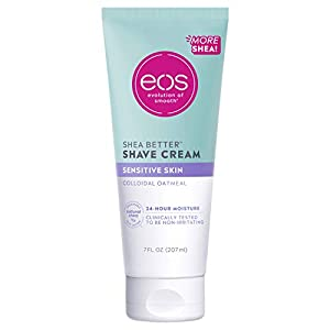 eos Sensitive Skin Shaving Cream for Women | Shave Cream, Skin Care and Lotion with Colloidal Oatmeal | 24 Hour…