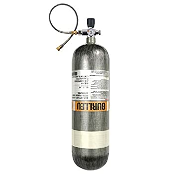 Image of Diving Tanks IORMAN 88 Cu.Ft / 4500 PSI Carbon Fiber Tank PCP Paintball Filling Station & Charging System Cylinder(Empty Bottle)