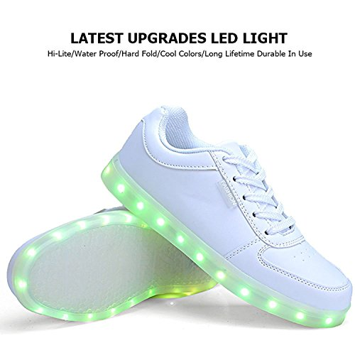 2555d0ea6004 QOUJEILY Light Up Shoes Fashion LED Sneakers … high-quality ...