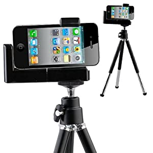 Tripod Mount Holder Stand for Mobile Cell Phone Camera: Amazon.co ...