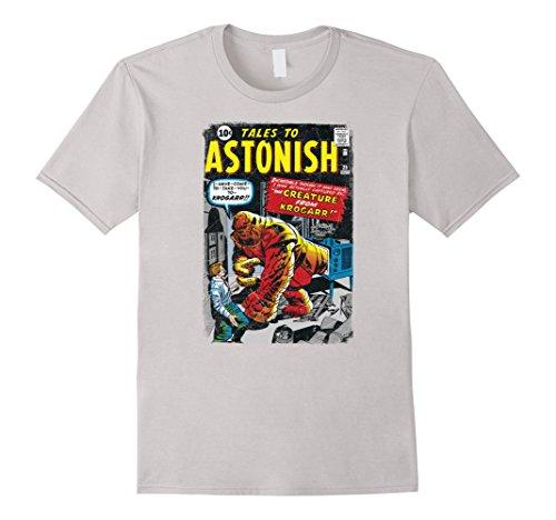 Marvel+Comics+Retro+Shirt Products : Marvel Monsters Unleashed Retro Comic Intro KROGARR T-Shirt