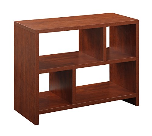 (Convenience Concepts Designs2Go Northfield Console Table Bookcase, Cherry )