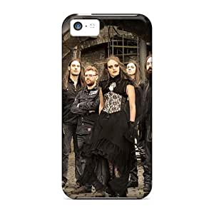 SherriFakhry Iphone 5c Scratch Protection Mobile Covers Unique Design Colorful Korpiklaani Band Pictures [ahC8835izQX]