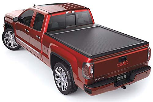 Roll-N-Lock RC101E E-Series Black Retractable Locking Tonneau Cover