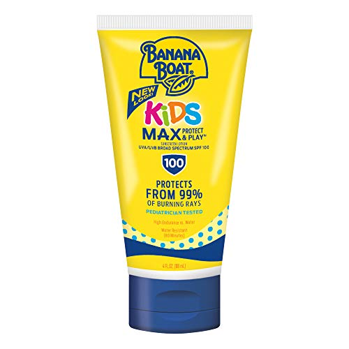 Banana Boat Kids Tear Free SPF 100 Lotion, 118 mL (Best Body Lotion With Spf In India)