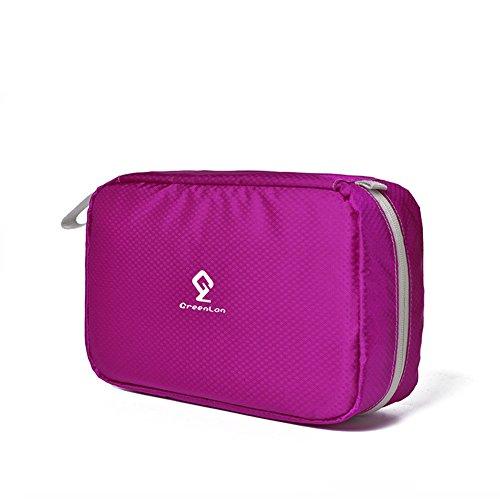 nine-cif-wash-bag-travel-waterproof-detachable-toiletry-bag-rose-red