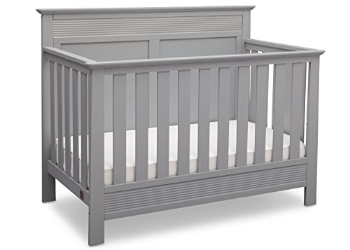 - Serta Fall River 4-in-1 Convertible Baby Crib, Grey