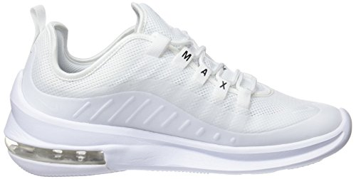 Scarpe Running Bianco NIKE Donna White black Air Wmns 100 Axis Max White SqCIgX