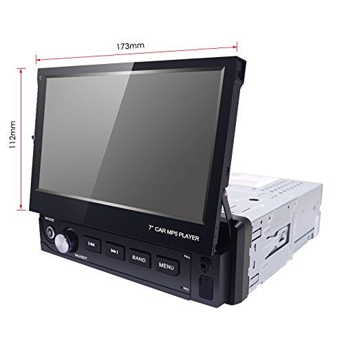 FEELDO 7inch 1DIN In-dash Manumotive Ultra Slim WinCE Car Bluetooth Radio USB 1080P MP5 Super Player by FEELDO (Image #6)