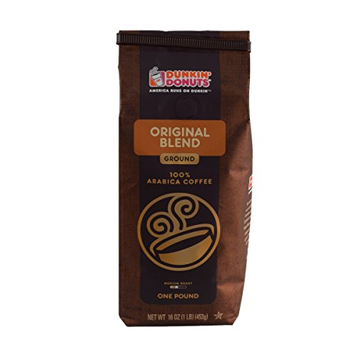 (Dunkin' Donuts Ground Coffee (1lb Bag, Original Blend))