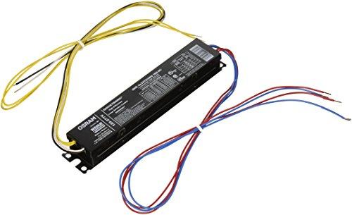 OSRAM SYLVANIA Sylvania High Efficiency Instant Start Quicktronic Electronic Ballast for Four 32 Watt T8 Lamps-645604 ()
