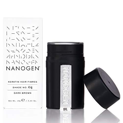 Nanogen Hair Thickening Keratin Fibres Dark Brown