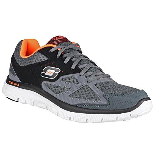 Skechers - Zapatillas deportivas Modelo SK51252 lex Advantage Master Plar para hombre caballero Carbón/Negro