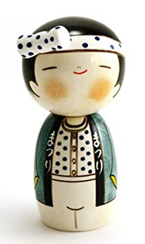 ChinaFurnitureOnline Chinese Wooden Display, 6.5 Inches Hand Crafted Round Display Pedestal