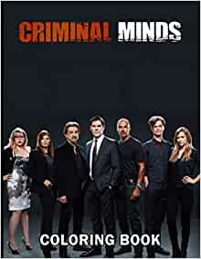 Criminal Minds Coloring Book: 50+ Coloring Pages ...