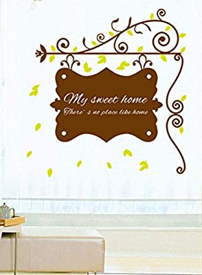 Wall Decal My Sweet Home There S No Place Like Home Words
