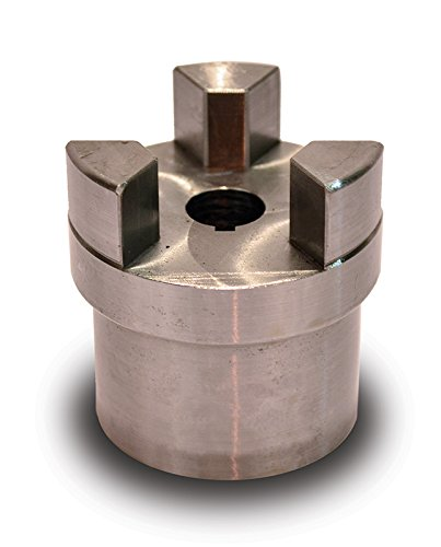 Coupling Half (Boston Gear FC205/8 Shaft Coupling Half, FC20 Coupling Size, 0.625 inches Bore, 1-7/16 Thru Bore Length, 1.750 inches Hub Diameter, 11.1 Max HP at 1750 RPM, 470 Max Torque (LB-IN), Steel)