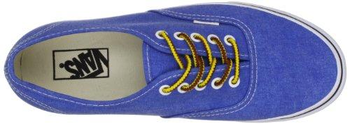 Vans U AUTHENTIC (WASHED) SKYDIV - Zapatillas de lona unisex azul - Blau (Washed skydiver/ True White)