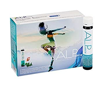 ALP CARNITIN l carnitina liquida vitamina CE 14x25 ml ampollas - carnitine fat burner para quemador de grasa dieta y metabolismo