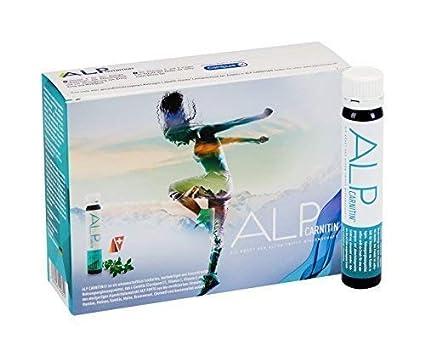 ALP CARNITIN l carnitina vitaminas C E 14x25 ml apoya quemegrasas dieta y metabolismo energético body fitness