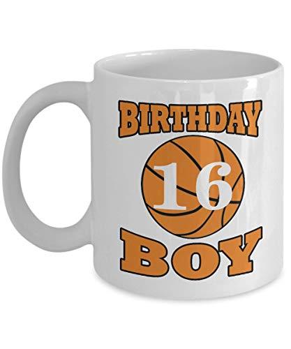 Lplpol Basketball Coffee Mugs 11 OZ Basketball Gifts Lover Ideas for Boys 16 Years Old Boys Gifts for Men 16th Birthday Gifts For Him Boys Men Guys Teenage For Birthday Christmas Ceramic Coffee Mug