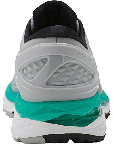 ASICS Women's Gel-Kayano 24 Running Shoe, Mid Grey/Black/Atlantis, 9 Medium US by ASICS (Image #2)