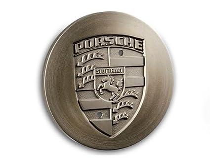 Rueda Ornamentales Tapa platino de metálico para Porsche 924, 928, 944 y 964