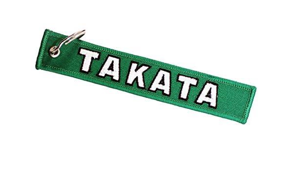 Takata 990209 Go para verde clave cadena: Amazon.es: Coche y moto